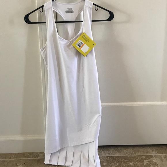 5c01888c Brand new Fila Goddess tennis dress color white S NWT